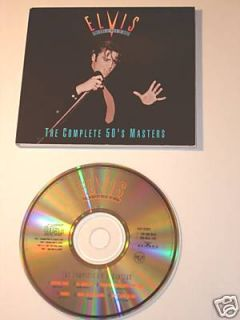 ELVIS THE COMPLETE 50S MASTERS CD RARE