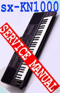 TECHNICS sx KN1000 / Kn1000 REPAIR / SERVICE MANUAL