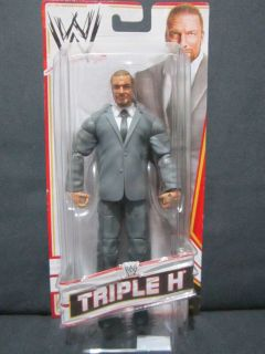 WWE wrestling figure Triple H COO Toys R Us Mail in TRU exclusive suit