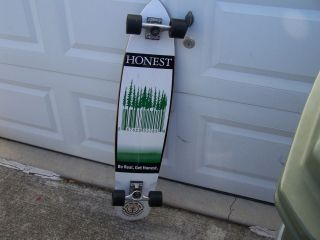 Element Skateboards Longboard X Honest Tea Skateboard Deck Trucks