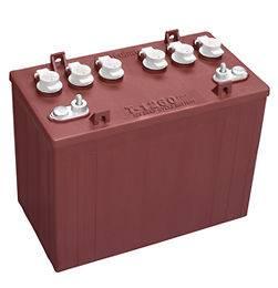 Trojan 12 Volt T 1260 Golf Cart Batteries   4 Batteries