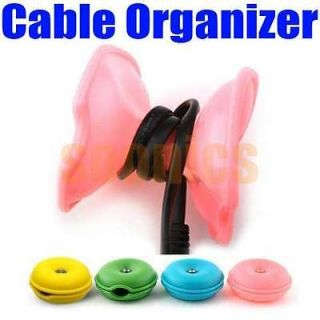 Turtle Cable Cord Wire Organizer Winder For iPhone iPod Cellphone