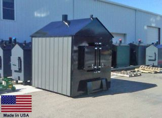 FURNACE BOILER Outdoor   Wood Burning   500,000 BTU   12,000 Sq Ft
