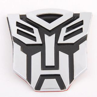 TRANSFORMERS AUTOBOT Logo Emblem 3D Decal Sticker Car cool Cheap