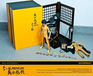 BRUCE LEE   Game of Death 12 Real Masterpiece Action Figure