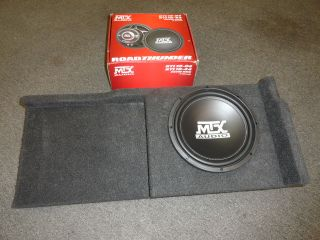 GMC Sierra Chevy Silverado Ext cab Subwoofer Box MTX sub enclosure