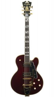 NYSD T Trans. Wine Red Solid Body Electric Guitar w/Dlx Hard Case
