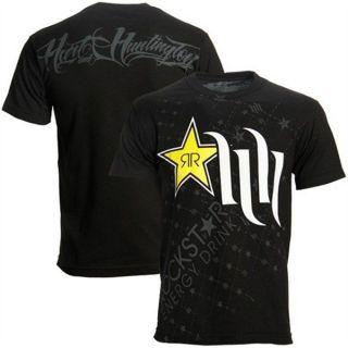 Shirt T Shirt Rockstar Energy Drink Mens T Shirt Black Size L
