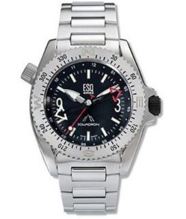 ESQ SWISS 07301123 SQUADRON MENS COMPASS WATCH $450
