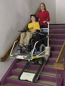 NEW Garaventa Super Trac Wheel Chair Wheelchair Stair Lift Climber