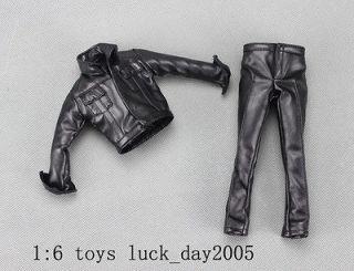 Enterbay Elvis Presley 68 COMEBACK SPECIAL Black leather Jacket