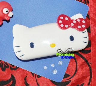 Brand New Cute Hello Kitty Hard Shell Glasses Eyeglass Case Box