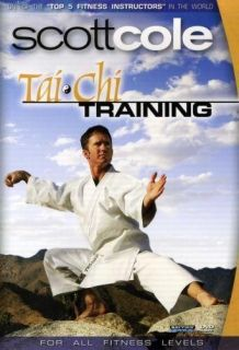 SCOTT COLE TAI CHI TRAINING EXERCISE DVD NEW SEALED WORKOUT FITNESS