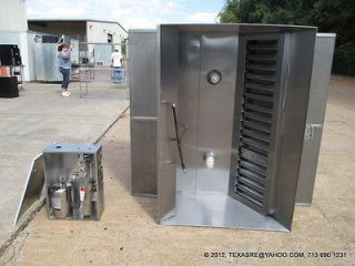 STEEL COMMERCIAL RESTAURANT 60 VENT HOOD WITH FIRE SUPPRESSION SYSTEM
