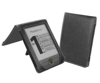 Cover Up PocketBook Basic 611 eReader Cover Case (Flip Stand)   Black