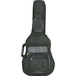 Fender Deluxe Jumbo Acoustic Guitar Gig Bag Black