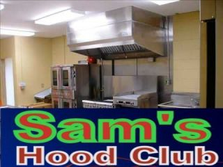 commercial exhaust hood in Hood Systems, Fire Suppression