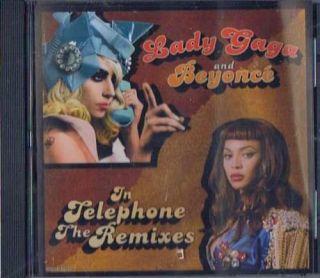 Lady Gaga & Beyonce   Telephone Remixes CD Single NEW