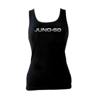 Roland Juno 60 Ladies Tank Top S   2XL sexy analogue Synth Synthesizer