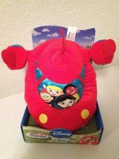 NEW DISNEY LITTLE EINSTEINS BABY PLUSH BIG HUGS ROCKET TOY RED STUFFED
