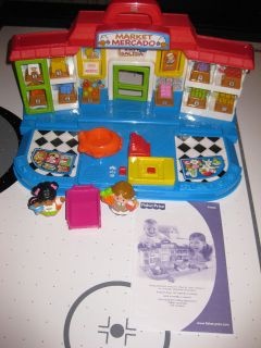 Fisher Price Little People Shop N Learn Market in Toys & Hobbies