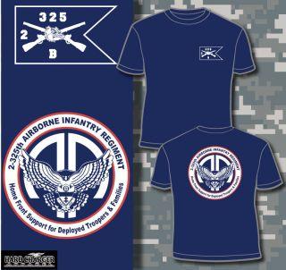 325th AIR Airborne Infantry Regiment Bravo Company Fort Bragg t shirt