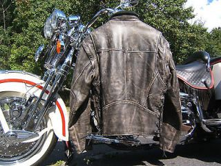 HARLEY DAVIDSON PANHEAD LEATHER JACKET VEST