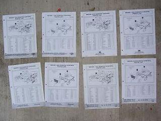 Outboard Motor Remote Control Parts Manual 310 320 410 620 710 J