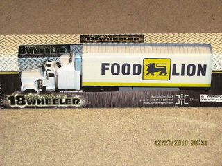 FOOD LION 18 WHEELER RADIO CONTROLLED BIG RIG TRUCK NEW