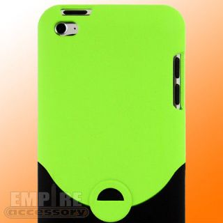 GREEN HARD CASE FOR APPLE IPOD TOUCH ITOUCH 4G 4TH Gen Generation