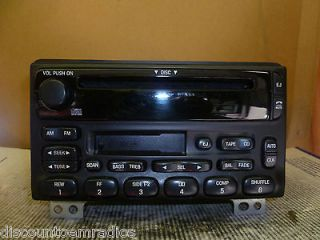 01 04 Ford Mustang Explorer Radio Cd Cassette Player 1L2F 18C868 BB