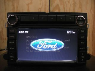 Ford factory OEM GPS navigation 6 disc CD  radio 07 08 09 8E5T