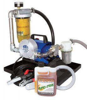 Algae X TK 240 XT Portable Tank Cleaning & Fuel Transfer System