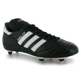 ADIDAS WORLD CUP SG FOOTBALL LEATHER BOOTS   MENS SIZE 6   13