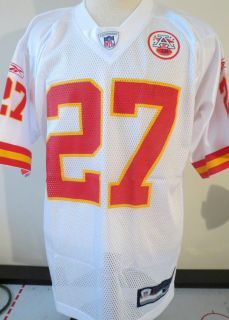 CIty KC Chiefs White Reebok MENS AFL Football Jersey M L XL 2x B7