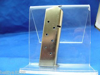 Colt 1911 Magazine 45 ACP Government Commander Gold Cup 7 Round Mag