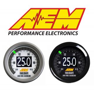 FAILSAFE AFR WIDEBAND AIR / FUEL RATIO AND BOOST IN ONE GAUGE 30 4900