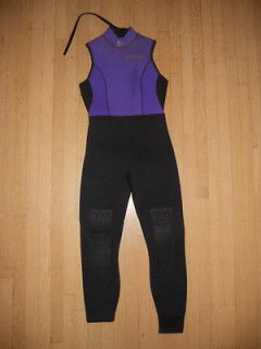 MARES Purple/Black Full Body WETSUIT Womens XS Scuba Diving Snorkeling