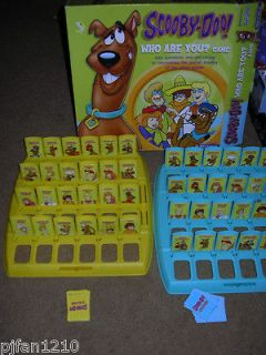 Scooby doo Who are You? pressman Board game. Missing two choose cards