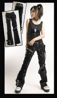 visual kei PUNK gothic rock removalbe pants skull printing size XXL