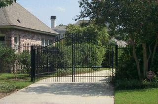 wrought iron driveway gates in Edging, Gates & Fencing
