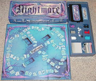 NIGHTMARE GAME VIDEO BOARD GAME EXCELLENT LIGHTLY PLAYED