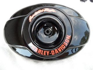 Harley Davidson Screamin Eagle Gloss Black Air Cleaner Cover Twin Cam