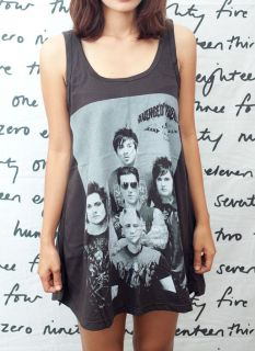 Avenged Sevenfold A7X ART Synyster Gates WOMEN T SHIRT DRESS Tank TOP