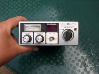 general electric cb radio, Radio Communication