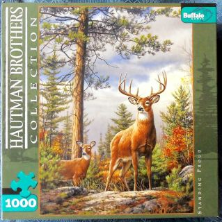 Buffalo Games Puzzle STANDING PROUD 1000 Pieces Hautman Brothers