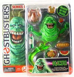 GHOSTBUSTERS NECA SERIES 1 SLIMER 4 ACTION FIGURE *RARE*
