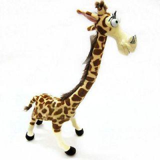 Lovely Long Neck Giraffe Stuffed Plush Toy Doll Madagascar 3 For Kids