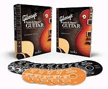 Gibsons Learn & Master Guitar   Book and DVD Package