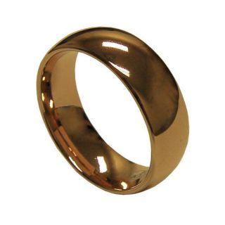 men rose gold wedding rings
